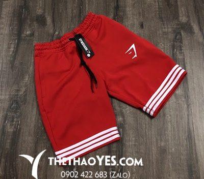 quần gymshark màu đỏ