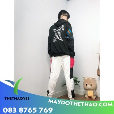 xưởng may May quần baggy nam