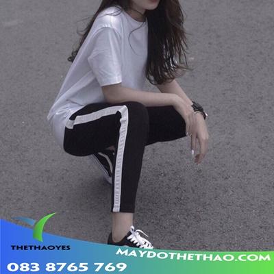 quần áo thể thao nữ baggy