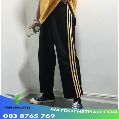 quần baggy ống rộng, ống suông