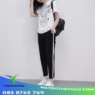 May quần baggy nam thể thao