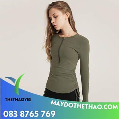 bán áo thun tay dài nữ