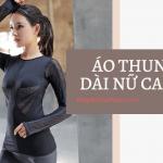 áo thun tay dài nữ form rộng