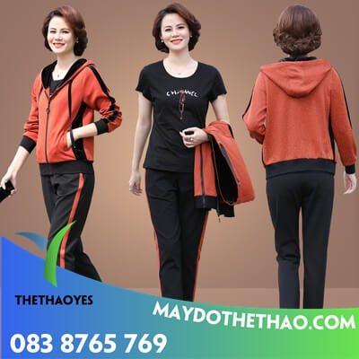 quần áo thể thao nữ lining