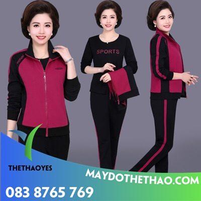 mẫu quần áo thể thao nữ