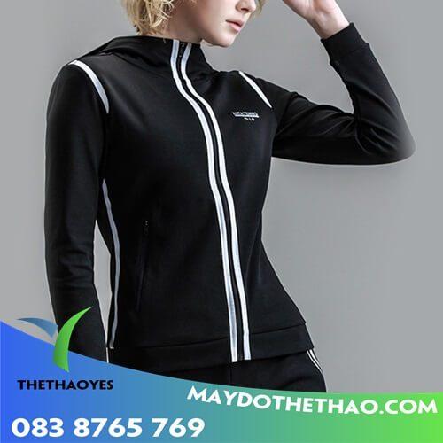 áo khoác gió thể thao nữ