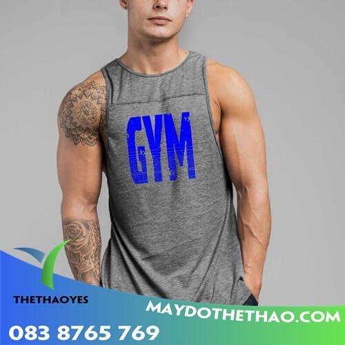 áo thun ba lỗ nam tập gym