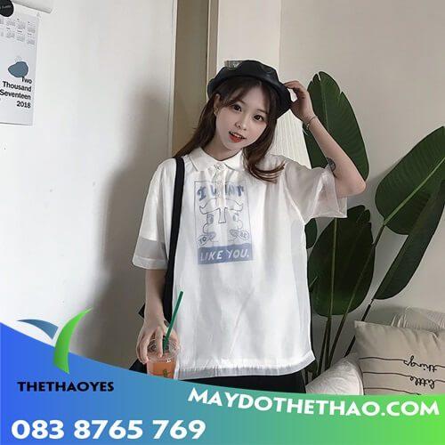 áo thun polo nữ tphcm