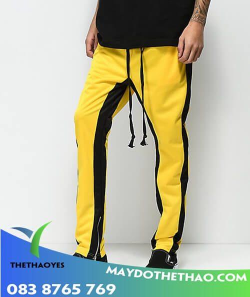 quần dài thể thao nam ống rộng