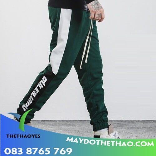 quần dài thể thao nam bó ống