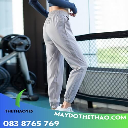 quần jogger nữ chất